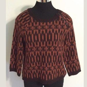 Ann Taylor Crew Wool Blend Sweater Women's Size S